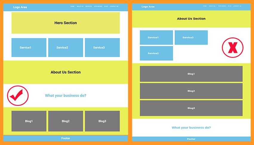 user interface snapshot