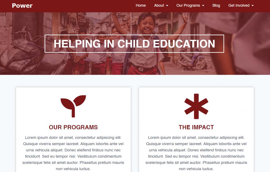 Nonprofit powerTheme