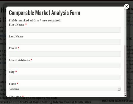 market ana form